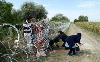 Una nuova barriera contro i migranti al confine tra Montenegro e Albania