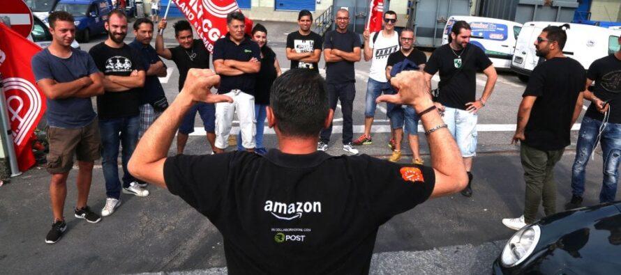 Amazon, alleanza dei principali sindacati europei