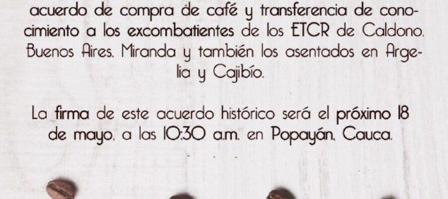 Illy Caffe por la paz en Colombia