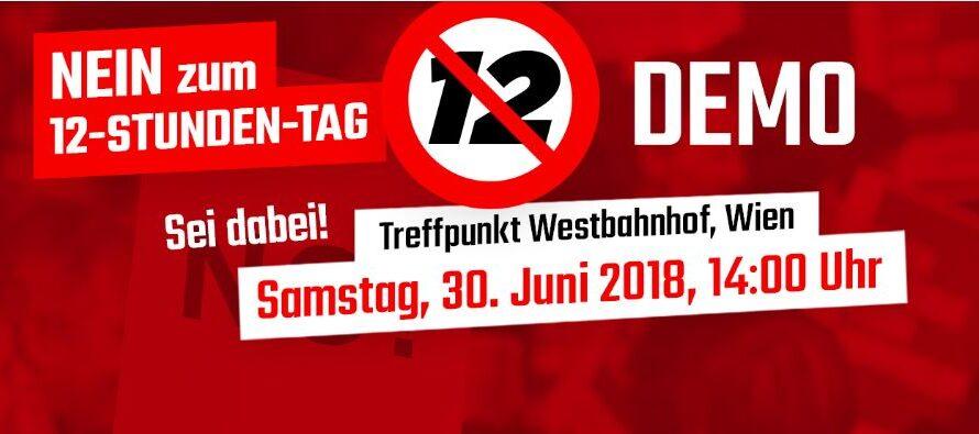 Austria, oggi la protesta contro la destra al governo che vuole spremere i lavoratori