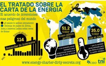 Un trattato internazionale sull'energia regala miliardi alle multinazionali