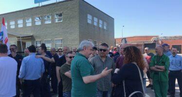 Figline Valdarno, Bekaert vuole chiudere, in 300 occupano la fabbrica