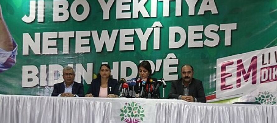 """Peoples' Democratic Party to the People """"HDP is the leading force of the struggle for peace and democracy"""""""