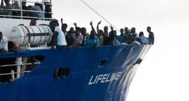 Attracco a Malta per la Lifeline ma l' equipaggio è indagato