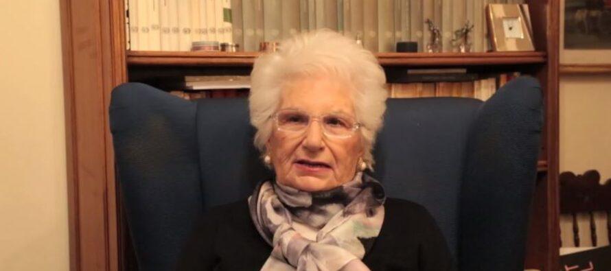 Lezione di storia e di morale di Liliana Segre: «Scegliete sempre la vita, che è straordinaria»