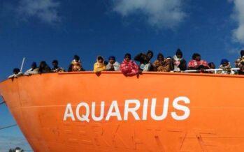 Migranti. Aquarius: dopo la scaricabarile, arriva una soluzione europea