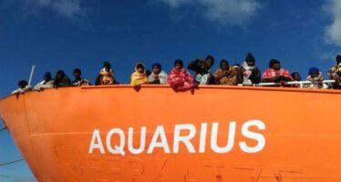 I porti chiusi ai migranti, oltre 600 migranti, con 123 bambini, in pericolo