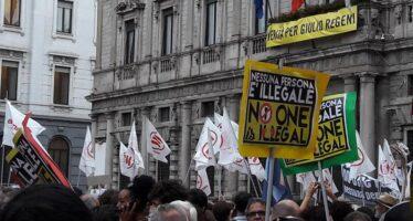 Contro razzismo e sfruttamento, migranti a Roma dai campi di Foggia e di Gioia Tauro