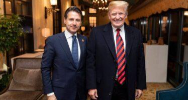 Usa/Italia.Trump benedice i gialloverdi, Conte: «Cabina di regia comune»