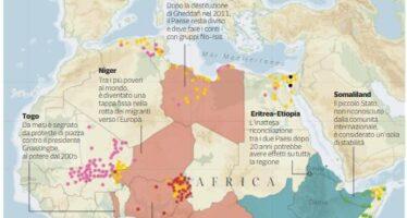I nuovi scenari di guerre, pace e terrorismo in Africa