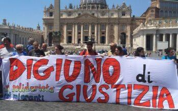 «Disobbedienza civile, basta tacere», Digiuno di giustizia a Roma
