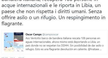 «L'Italia ha riportato migranti in Libia». Per il governo norme rispettate