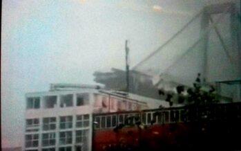 Genova, tragedia annunciata, crolla il ponte Morandi, 35 i morti