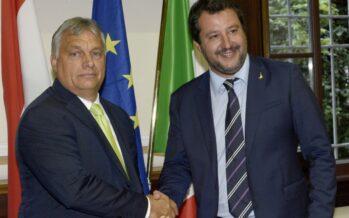 Il mezzo asse sovranista tra Orbán e Salvini