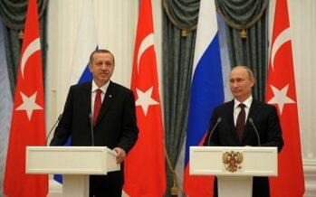 Accordo sulla pelle dei curdi, Putin regala a Erdogan 100 km di Siria