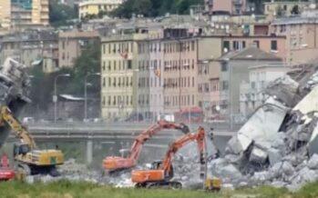 Il ponte Morandi un anno dopo