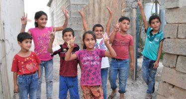Refugees. Visit to Maxmur Camp