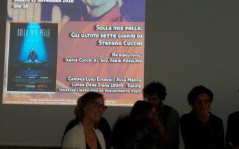 Torino, folla per Ilaria Cucchi al Campus, poi all'ANPI con Mimmo Lucano