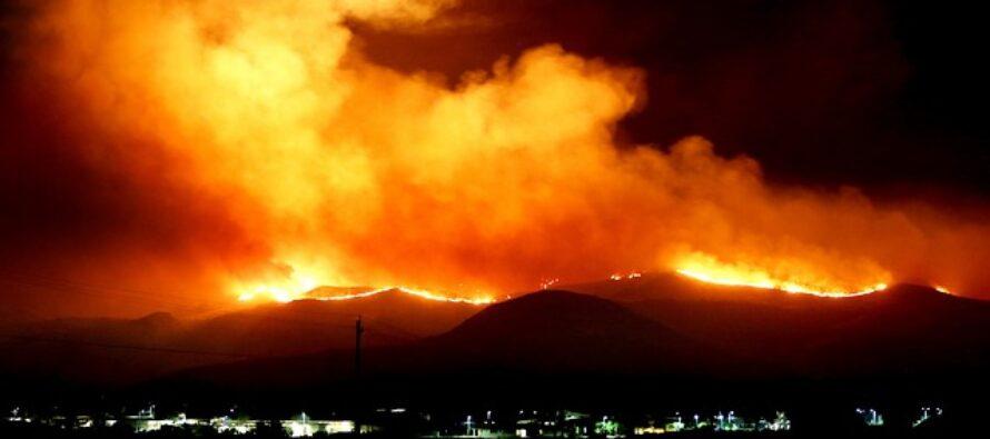 Spagna, l'incendio sull'isola di Gran Canaria fuori controllo