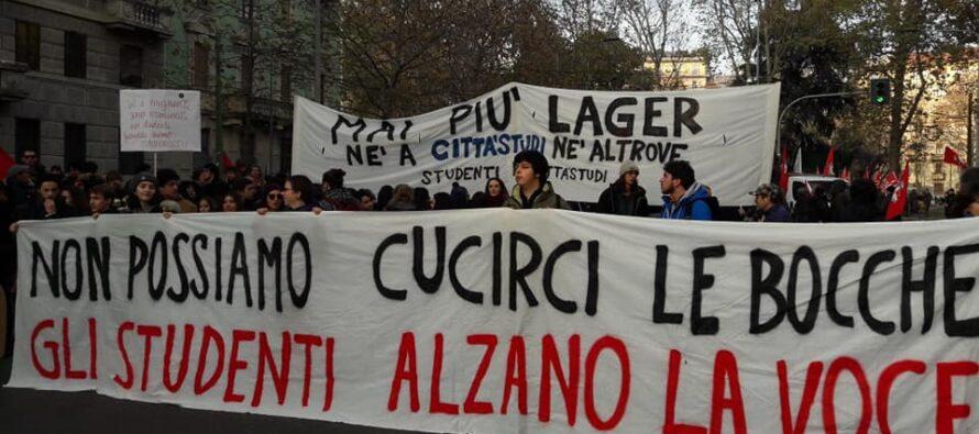In piazza la Milano antirazzista, contro la legge Salvini e i centri per i rimpatri