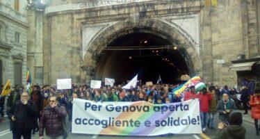 Una Val di Susa di accoglienza, in 5mila contro il decreto Salvini