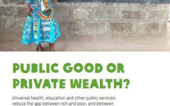 Rapporto Oxfam. Sempre più diseguaglianze, mentre il fisco favorisce i ricchi