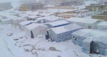 Gelo in Siria, 15 piccoli rifugiati uccisi dal freddo