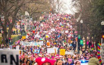 Ieri a a Roma la Women's march contro la violenza