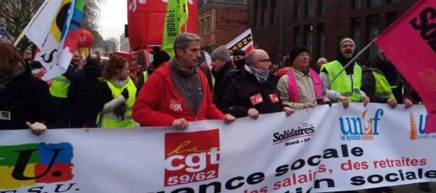 La Francia si blocca, lo sciopero test per Macron e i sindacati