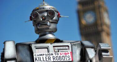 Intelligenza artificiale e guerra. La campagna Stop killer robots per il bando