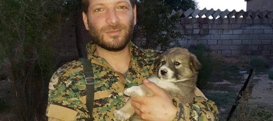 Letter from slain International Volunteer Lorenzo Orsetti