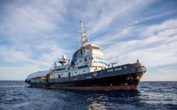 Mare Jonio: ancora al largo di Lampedusa nella burrasca