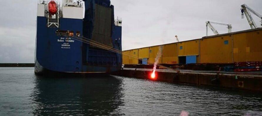 Basta armi! Genova si mobilita: in arrivo un altro cargo saudita