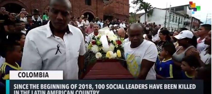 Angela Davis denounced attacks on social leaders in Colombia