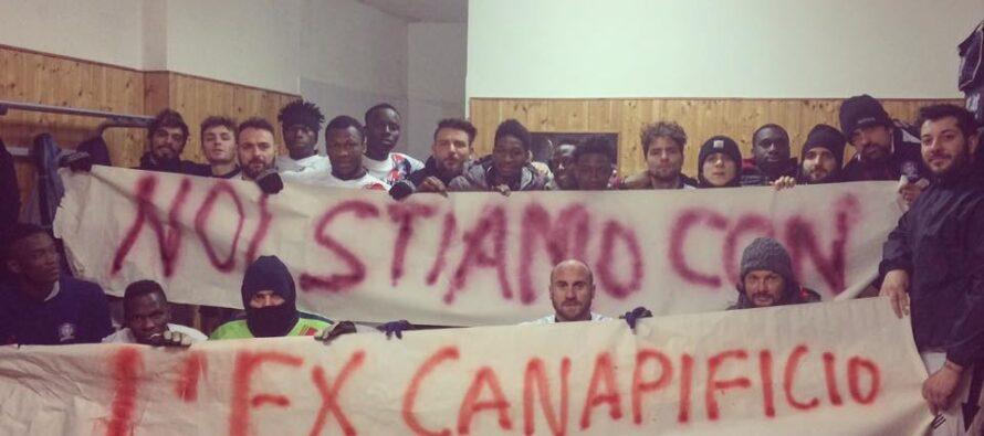 Caserta. Richiedenti asilo, l'ex Canapificio manifesta contro i tagli del Viminale