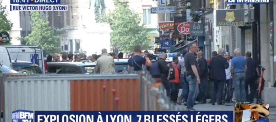 Pacco bomba nel centro di Lione, 13 feriti lievi