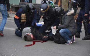 Francia.Polizia violenta al Primo maggio parigino, la Cgt accusa il governo
