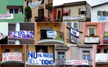 Oggi Milano diventa un grande striscione contro Salvini-Le Pen