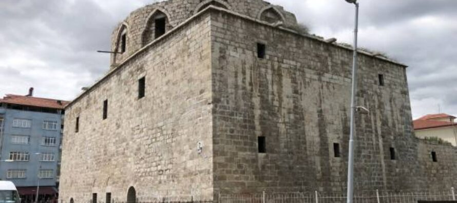 Taşhoron Church in ruins as Turkish government abandoned restoration project
