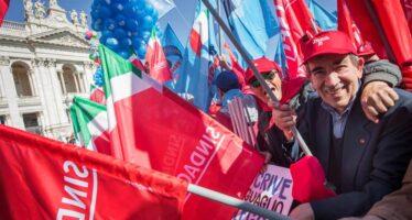 """""""Non è un paese per vecchi"""", i pensionati in piazza a Roma"""
