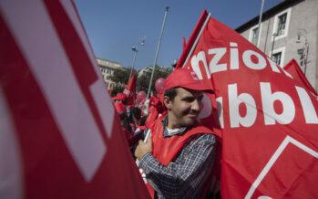 In piazza i lavoratori pubblici: contratti e più servizi