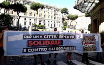 Blitz al Viminale: «Roma non si chiude. Manifestiamo il 22 giugno»