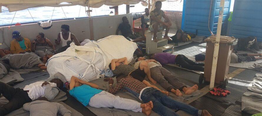 Sea Watch 3.La portavoce della Ong Giorgia Linardi: «Sono sfuggiti all'inferno, respingerli in Libia è da criminali»