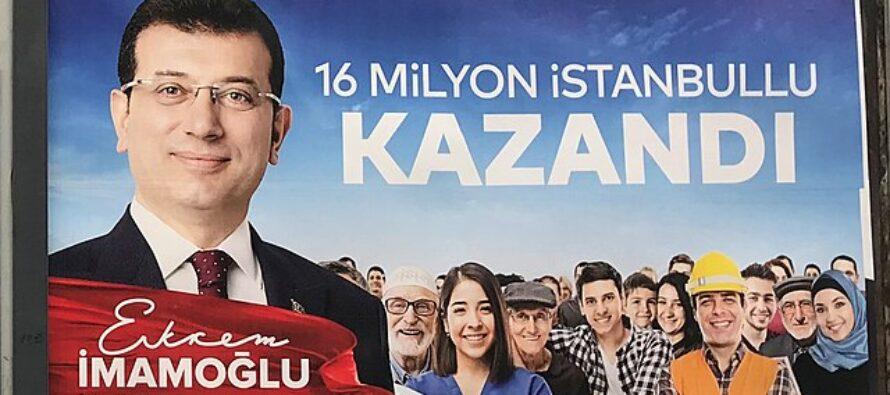 Turchia.Boomerang per Erdogan, Imamoglu (ri)eletto sindaco di Istanbul