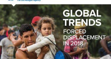 Migranti,oltre 70 milioni di persone costrette alla fuga. «Fili spinati e muri sono inutili»