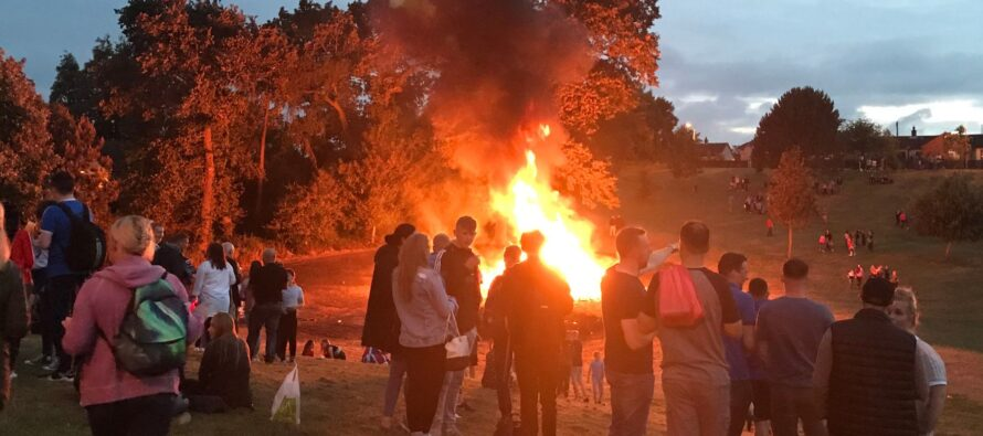 Belfast. PSNI fear UVF reaction over bonfire intervention