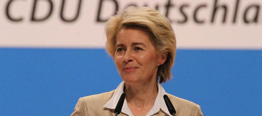 E' nata la nuova Commissione, Von der Leyen promette un Green New Deal