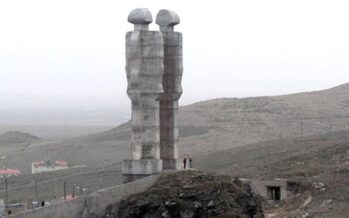 Demolition of monument to humanity violated rights of sculptor