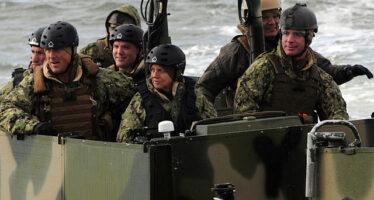 Mar Baltico. Esercitazione militare anti russa sotto guida britannica