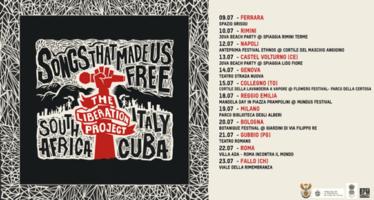 Músicos de Cuba, Sudáfrica e Italia rinden homenaje aMandela